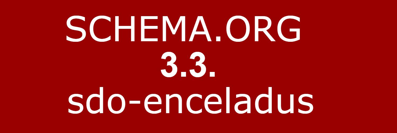 Вишла нова, 3.3 версія словника мікроформатів Schema.org